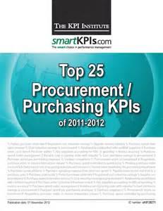 Purchasing Report Sample New Smartkpis Com Report Ranks The Top Procurement