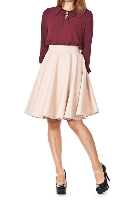 Dress Wanita 578 10 buy 1 get 1 fashion midi flare skirt available 8