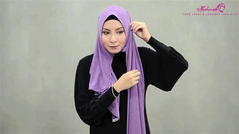 Tutorial Pashmina Rajut Glitter | tutorial wide shawl gina glitter shawl by muslimah