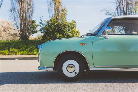 nissan figaro mint green 1991 nissan figaro cult collectable mint only 4k orig