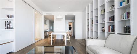 modernly renovated apartment in barcelona spain