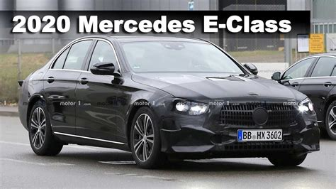 2020 Mercedes E Class by W213 Mercedes E Class 2020 Facelift Prototype Spied For
