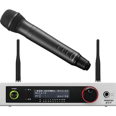 Microphone Chime Toa Zm 100ec toa electronics s5 5 hd wireless handheld microphone s5 5 hd b h
