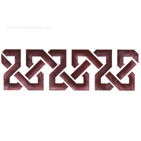 cenefas para pintar paredes cenefas geometricas imagui