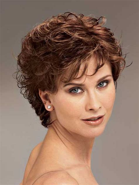 short curly hairstyles above the ear 20 short hair for women over 40 short hairstyles 2016