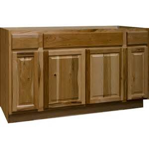 60 Inch Kitchen Sink Base Cabinet Hton Bay Hton Assembled 60x34 5x24 In Sink Base Kitchen Cabinet In Hickory Ksb60