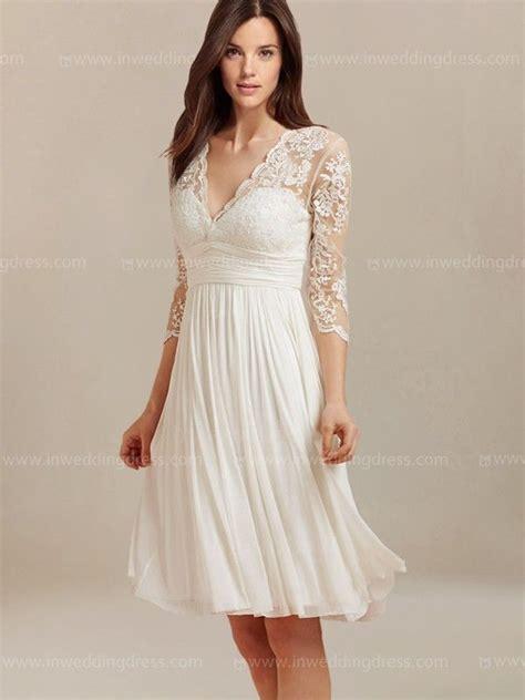 Knee Length Wedding Dresses by 25 Best Ideas About Knee Length Wedding Dresses On