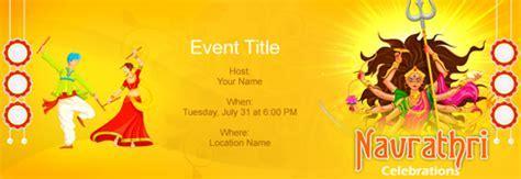 Free Navratri Festival invitation with India?s #1 online tool