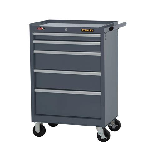 27 in w 7 drawer tool cabinet stanley 27 in w 5 drawer tool cabinet grey h5trsgy the