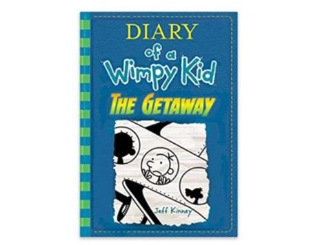 in an dallas novel in book 46 the getaway diary of a wimpy kid book 12 hardcover book