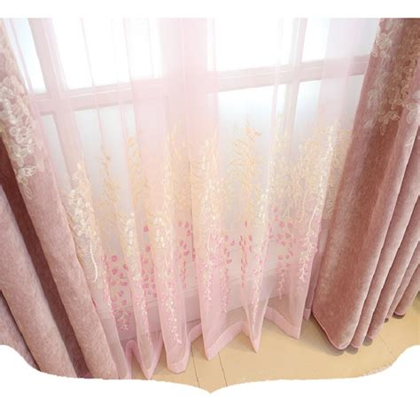 curtains wholesale online buy wholesale pink window curtains from china pink