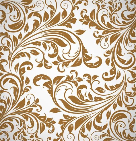 free pattern in vector abstract floral pattern background vector free vector