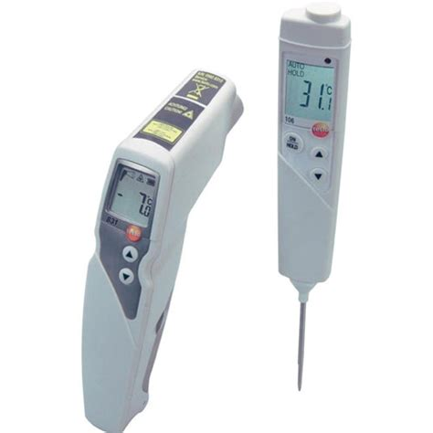 Thermometer Testo 106 testo 0563 8315 measurement set with infrared food