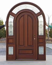 solid mahogany top exterior doors