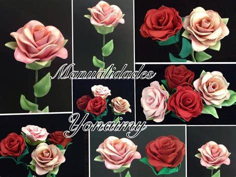 rosas pequenas de foamy o goma eva small foam roses las 25 mejores ideas sobre rosas en foami en pinterest