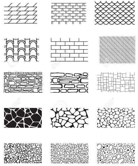 brick pattern line drawing brick pattern clipart 92