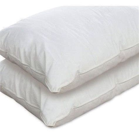 firm bed pillows new set 2 king size medium firm bed pillows hypoallergenic microfiber pillow nip