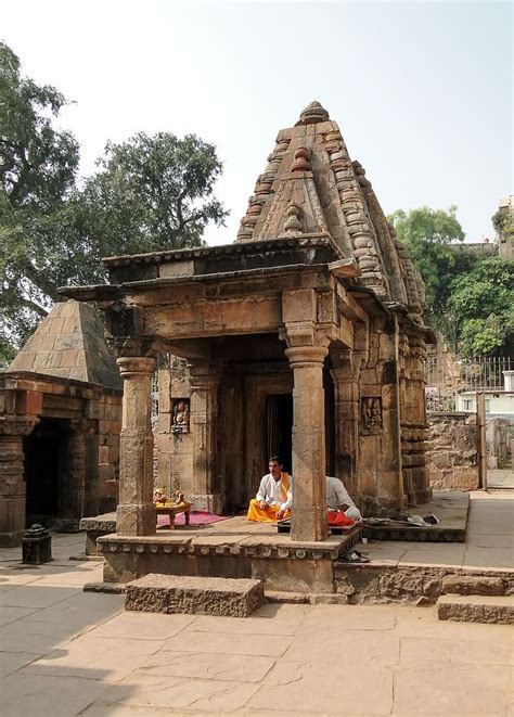 A Small a small temple in mamleshwar temple complex in sanawad