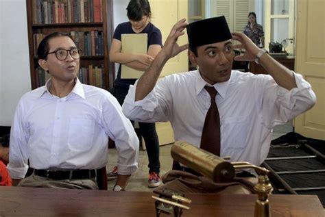 video film soekarno hatta lukman sardi tak ambil pusing soal soekarno republika