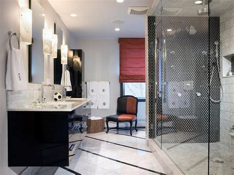 Modern Black And White Bathrooms Black And White Bathroom Designs Bathroom Ideas Designs Hgtv