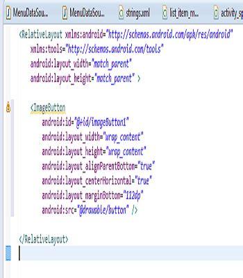pengertian layout pada eclipse cara memperindah tilan layout anda dengan image button