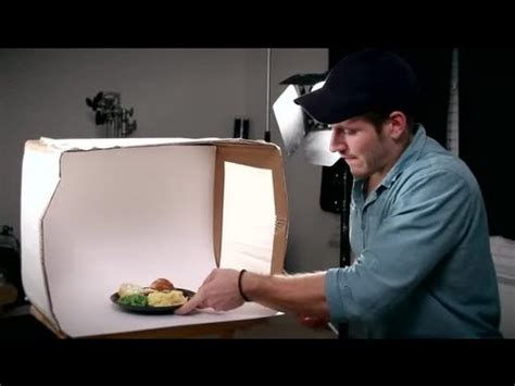 how to make a lightbox to photograph food : tips for