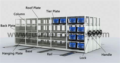 mobile shelf mobile rack jeanter cabinet