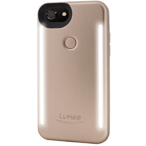 lumee duo iphone 7 / 6s / 6 double sided lighting case
