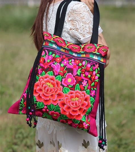 Handmade Embroidered Bags - 2016 new national trend embroidered bags handmade flower