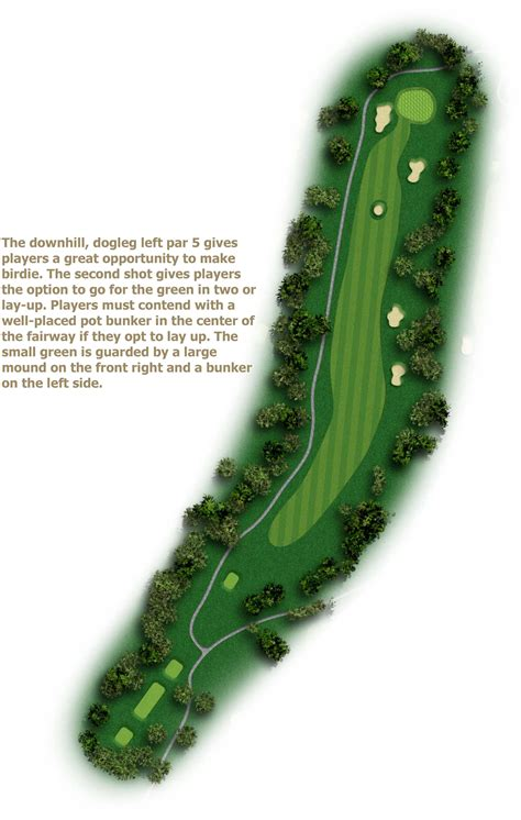 Golf Course Layout Design | course layout alamance country club