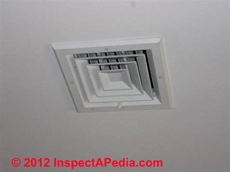 air conditioner registers ceiling dianose repair warm air heating furnaces how does a