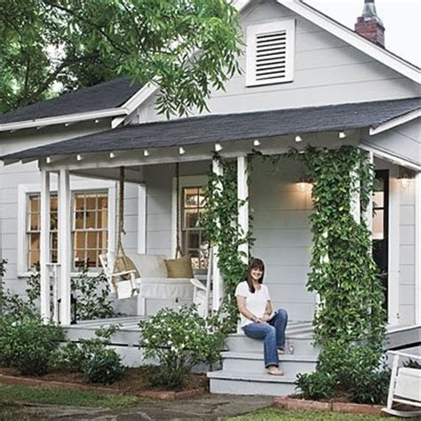 cottage style porch for ranch homes the allure of a cottage front porch enjoywithluh