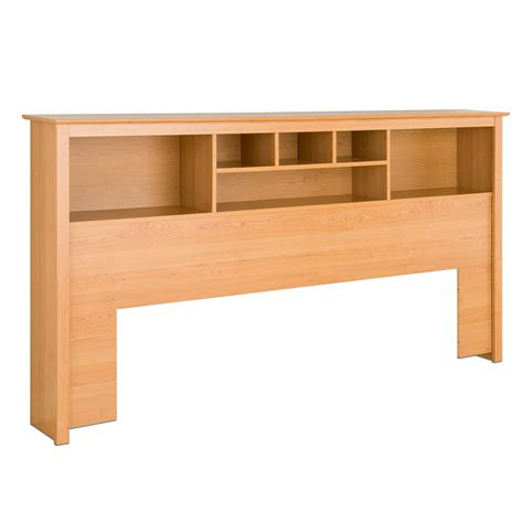 maple headboards prepac bookcase headboard maple