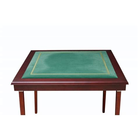 what size is a card table dal italy chess bridge card table size