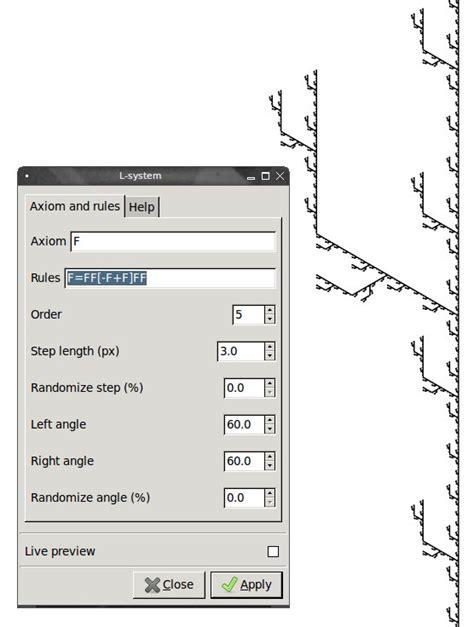 inkscape tutorial angle penguin pete s blog inkscape tutorial l system fractals