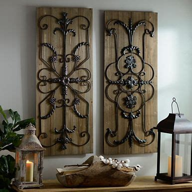 adelaide distressed white wooden plaque set