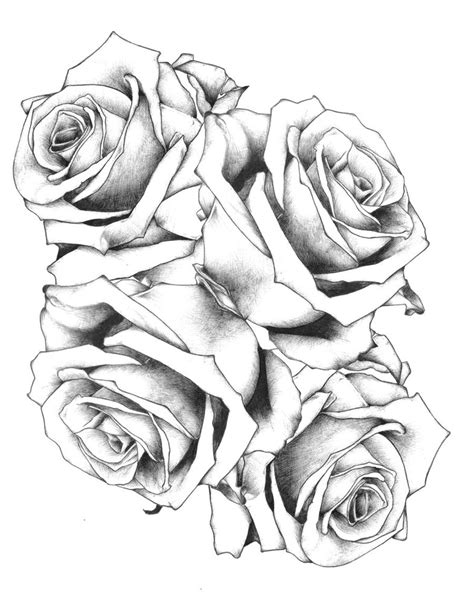 free rose tattoo designs to print free printable coloring pages best coloring pages