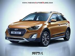 Hyundai I20 2017 Hyundai I20 Active Facelift Rendering
