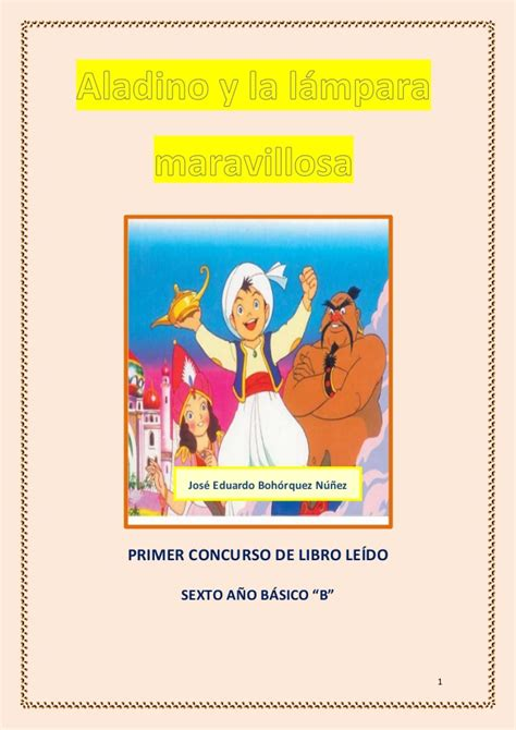libro aladino y la lara aladino jos 233 boh 243 rquez