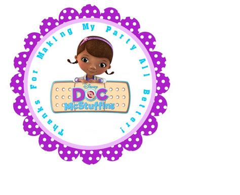 docs thank you card template 49 best birthday doc mcstuffins images on