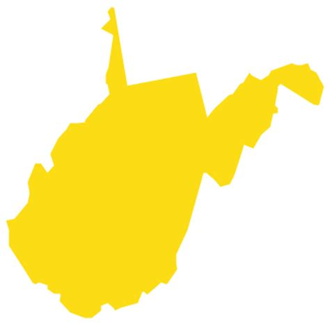 west virginia outline clipart collection