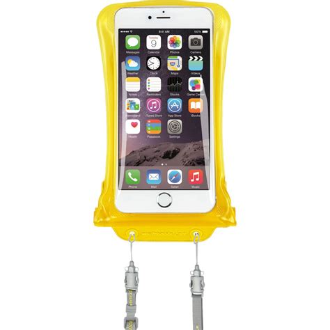 dicapac waterproof for smartphones up to 5 7 quot wp c2 y