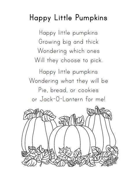 pumpkin poems the crafty october 2013