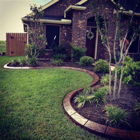 Landscape Edging Houston Landscape Borders Curbing Concrete Resurfacing Concrete