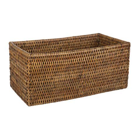bathroom boxes baskets buy decor walther basket utb multi purpose box dark
