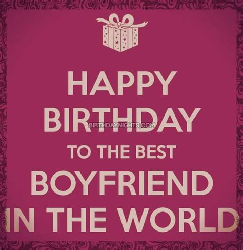 51 Best Birthday Greetings For Boyfriend Golfian Com