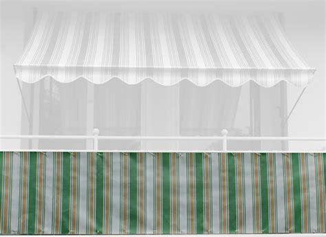 markisen paradies gutschein balkonbespannung design nr 3500 h 246 he 75 cm
