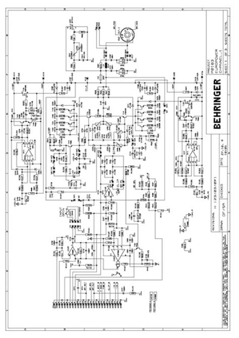 Behringer EP4000, Service Manual, Repair Schematics