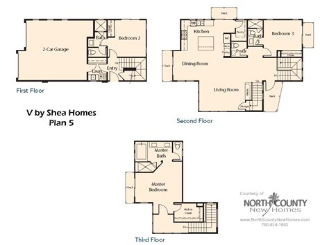 shea homes floor plans v by shea homes in leucadia floor plan 5 north county new homes