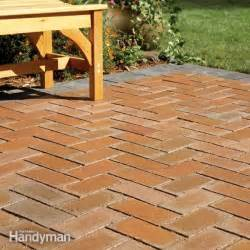 how to concrete patio how to cover a concrete patio with pavers the family